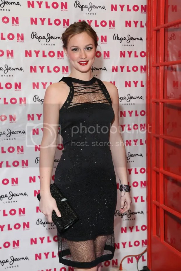 Leighton Meester at the Mexican launch of Nylon magazine