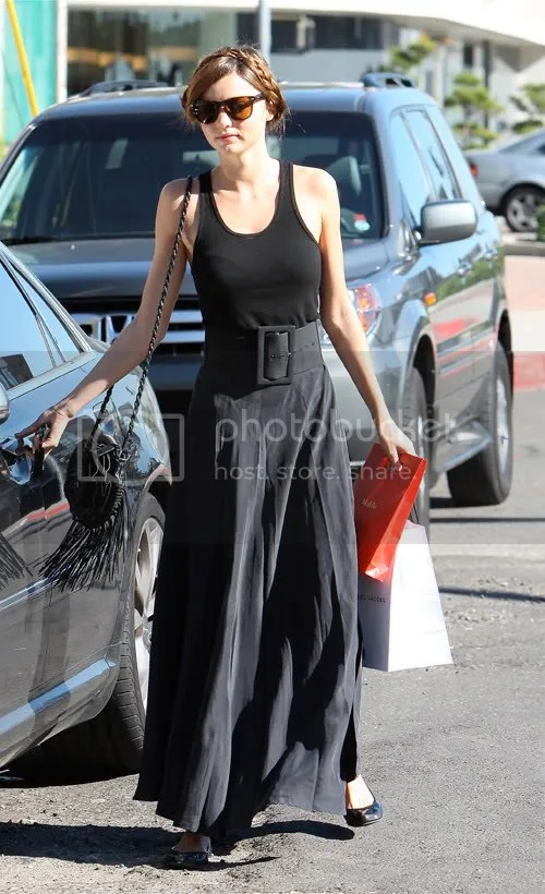 Miranda Kerr shopping in LA