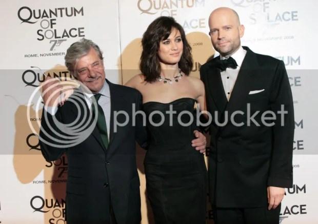 Olga Kurylenko at Quantum of Solace debute in Rome