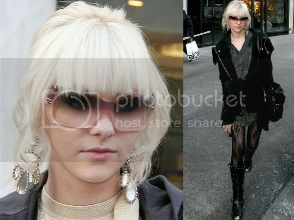 Taylor Momsen hair style