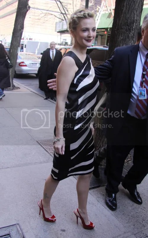 Drew Barrymore in New York: April 12, 2009