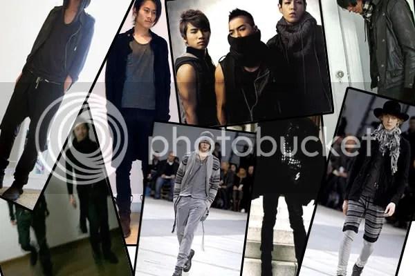 Goth Ninja menswear trend