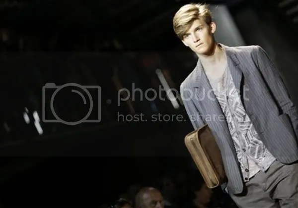 Missoni menswear Spring/Summer 2010 runway