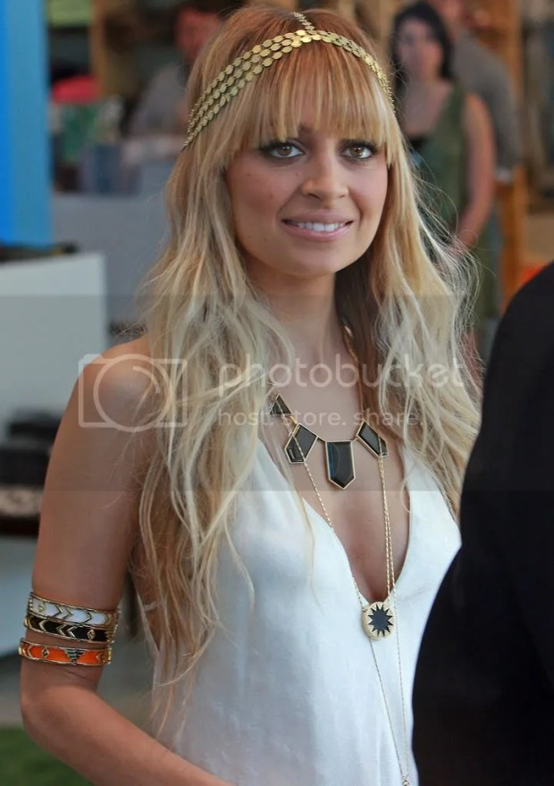 Nicole Richie launches her House of Harlow jewellery line at Kitson