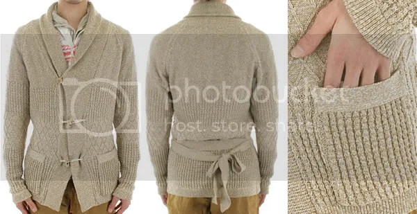 Shwal neck cardigan from Journal Standard