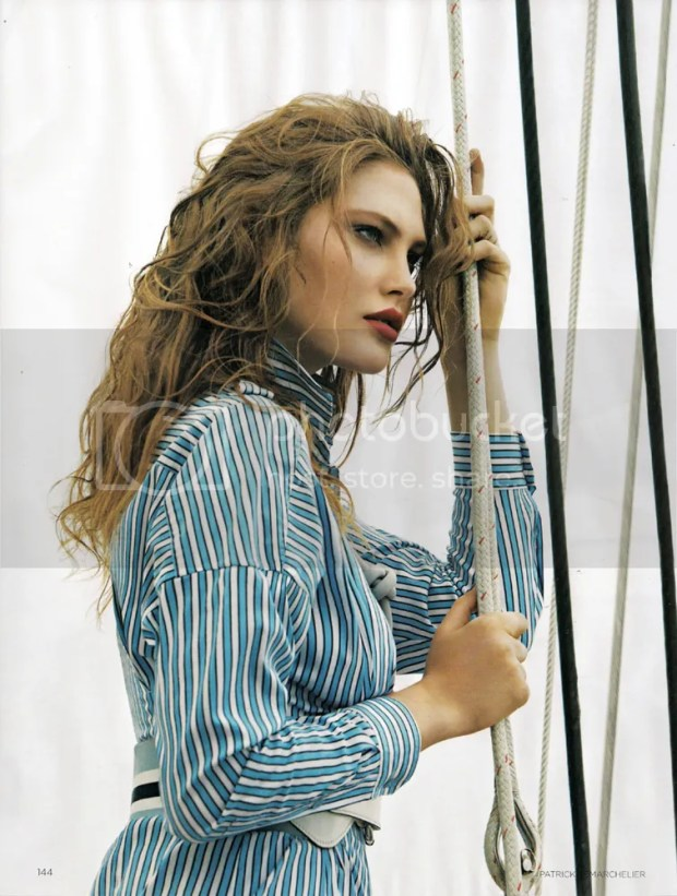 Catherine McNeil: Vogue, January 2010