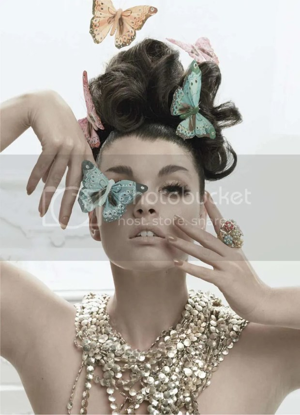 Crystal Renn: Elle January 2010