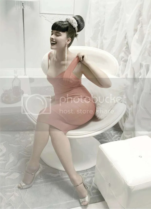 Crystal Renn: Elle January 2010