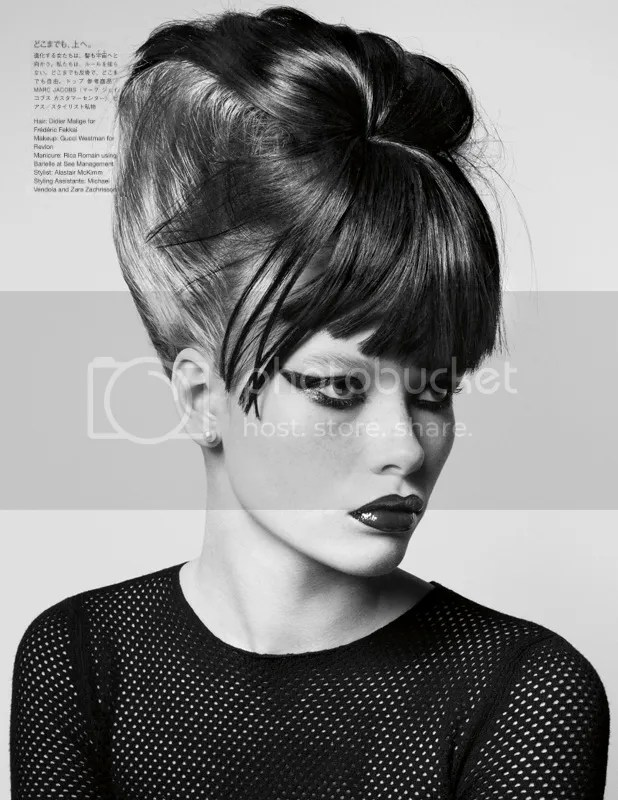 Julia Hafstrom: Vogue Nippon January 2010