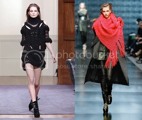 women's chunky knits
