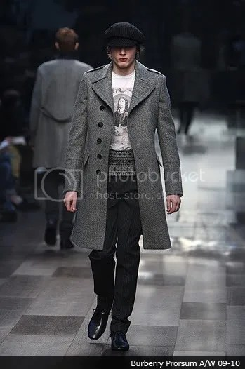 Men's military trend on the runway: Autumn (Fall)/Winter 2009-2010
