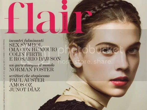 Milkmaid braid hair trend in Flair Magazine