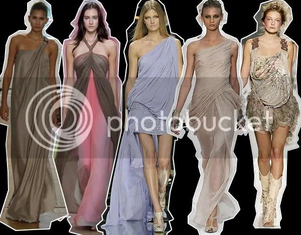 Grecian Goddess dress trend