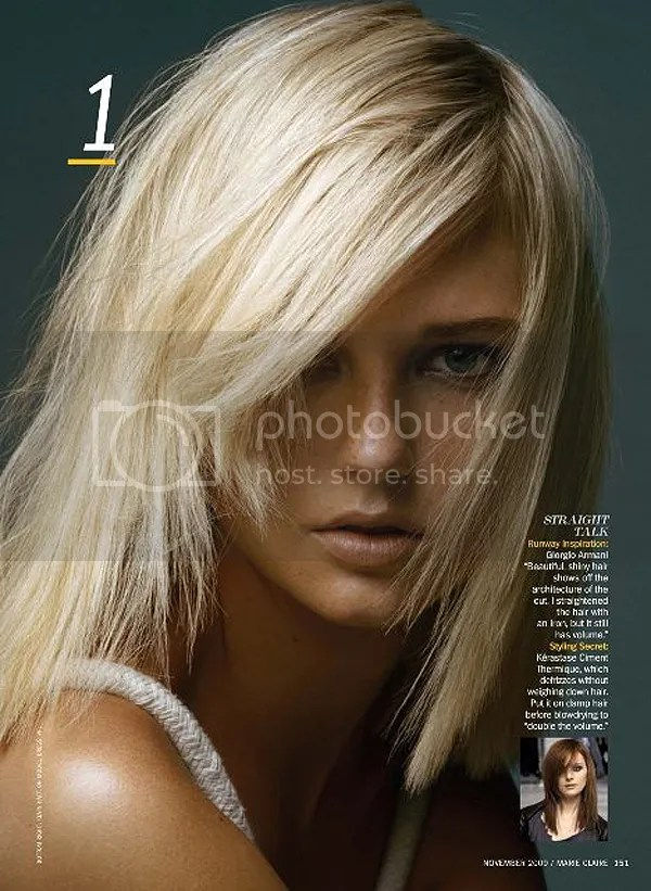 Hairstyles For Hair Growing Out Peroxide Blonde With Fringe 5 Ways To Wear It