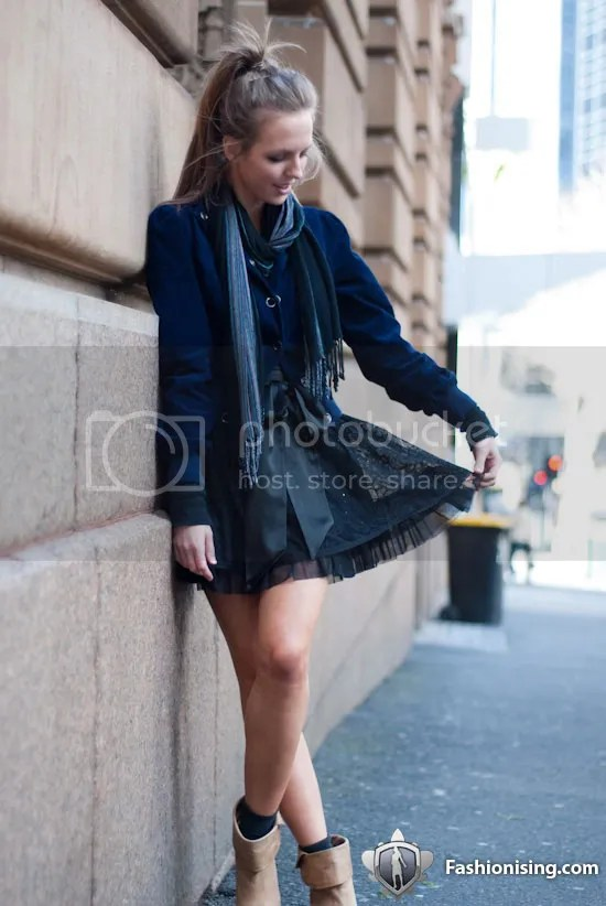 High Fashion, High Tea 2009; MSFW street style