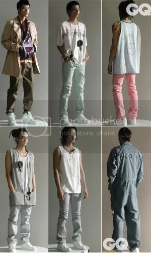 Korean men's fashion