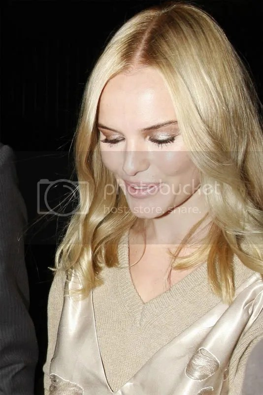 Kate Bosworth at Miu Miu, Paris Fashion Week 2008