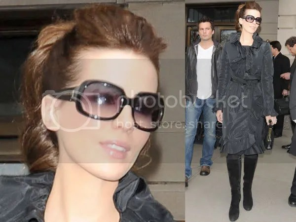 Kate Beckinsale sunglasses trends