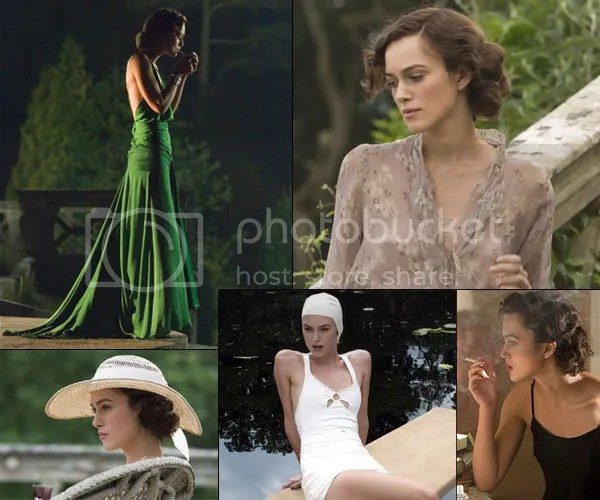 Keira Knightley as Cecilia in Atonement