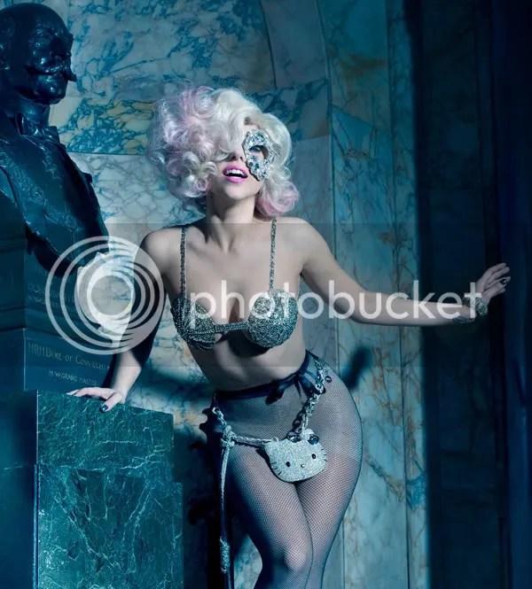 Lady Gaga and Hello Kitty Photoshoot