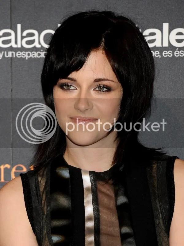 Kristen Stewart at Twilight: New Moon event in Spain