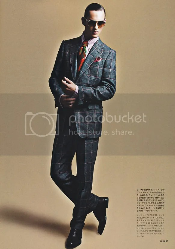 Tom Ford Autumn (Fall) / Winter - SENSE magazine