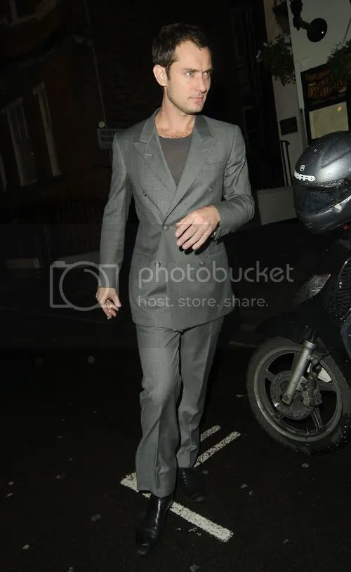 Jude Law The Punch Bowl in London
