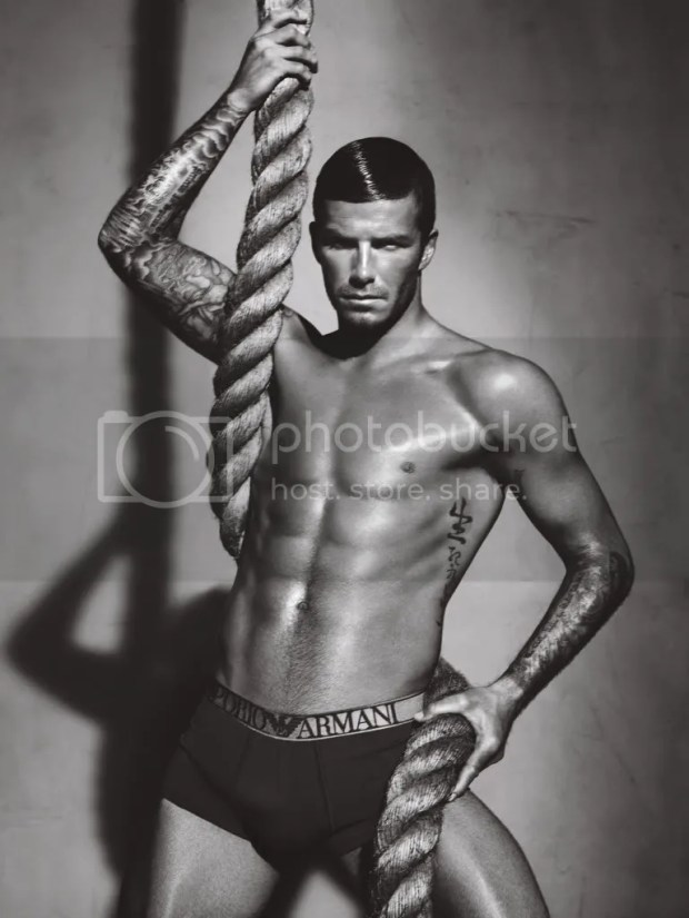 David Beckham for Giorgio Armani underwear, Autumn(Fall)/Winter 2009/2010
