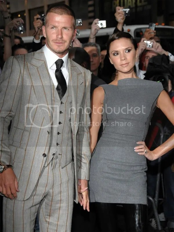 Victoria & David Beckham Fragrance Launch