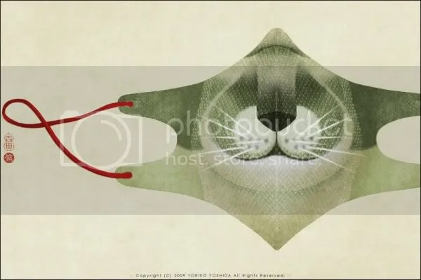 Yoriko Yoshida swine flu masks