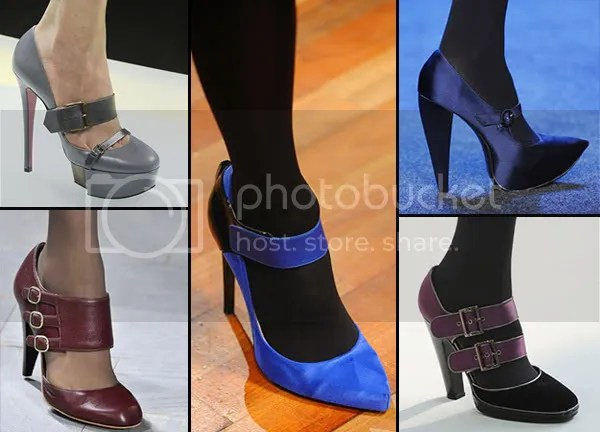 High-heeled Mary-Janes shoe trend, 2008