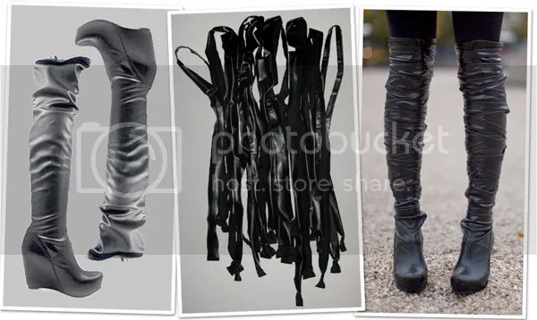 DIY boots by Caroline's mode