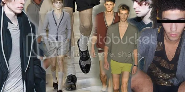 Men's shorts trend for summer