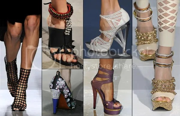 Spring/Summer 2009 Runway Shoe Trends