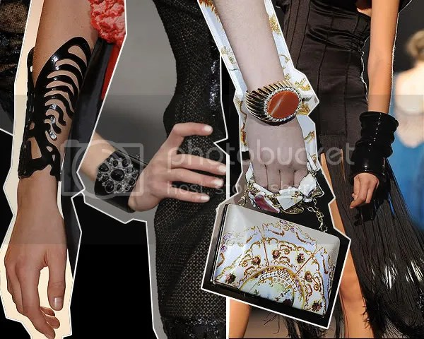 Statement cuffs, bracelets and bangles for 2009