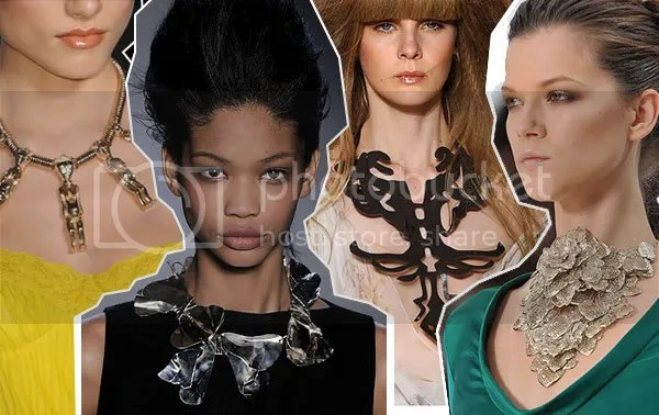 Statement necklaces S/S 2008