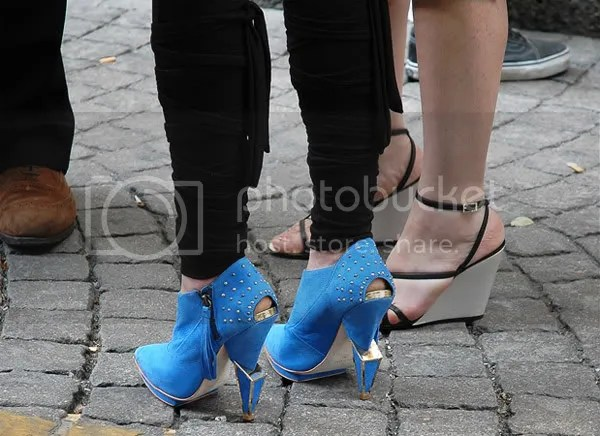 Paris street style: feature heels