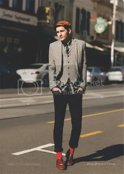 Scott Schuman for Saba Denim: Street Style campaign