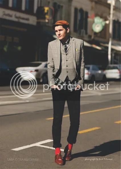 Scott Schuman for Saba Denim: Street Style campaign