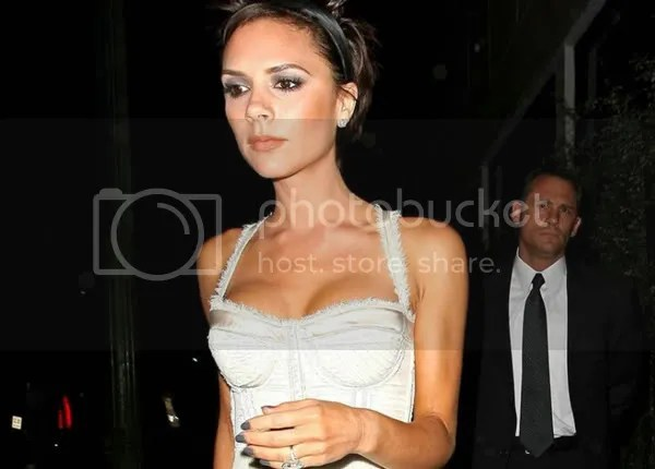 Victoria Beckham in Dolce and Gabbana