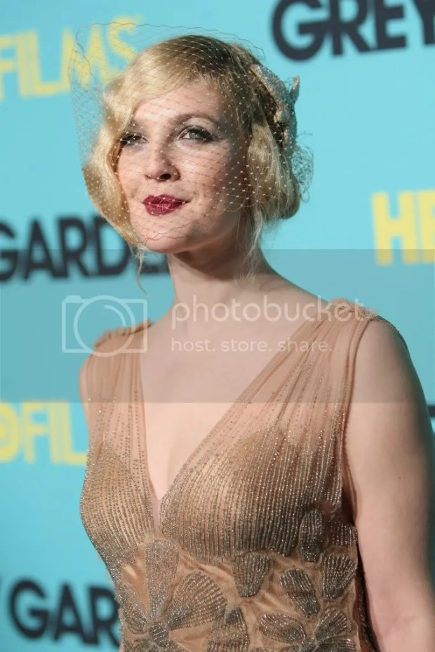 Drew Barrymore at the premiere of Grey Gardens in NY April 14, 2009