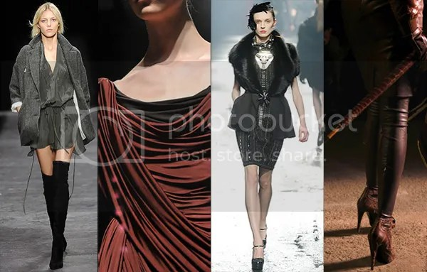 Women's Autumn / Fall / Winter 2009 / 2010 fashion trends