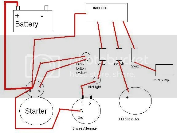 simple wiring diagram - Pirate4x4Com  4x4 and Off-Road Forum