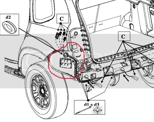 dacia duster tow bar wiring diagram