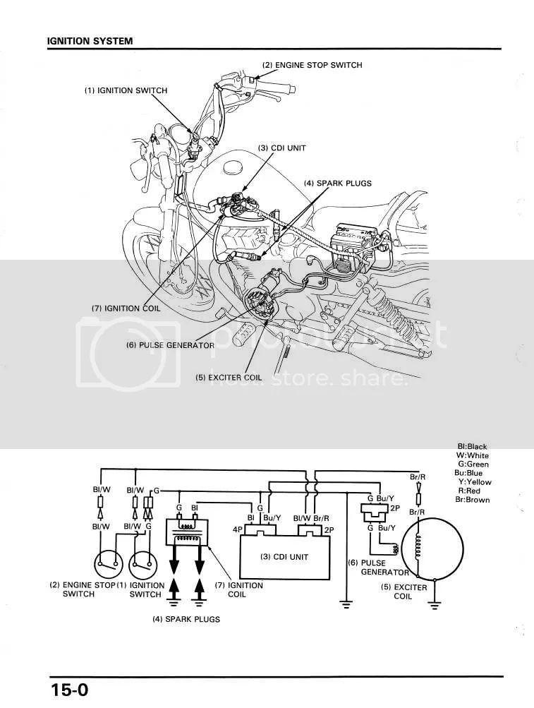 tachometer wiring for 250 honda rebel