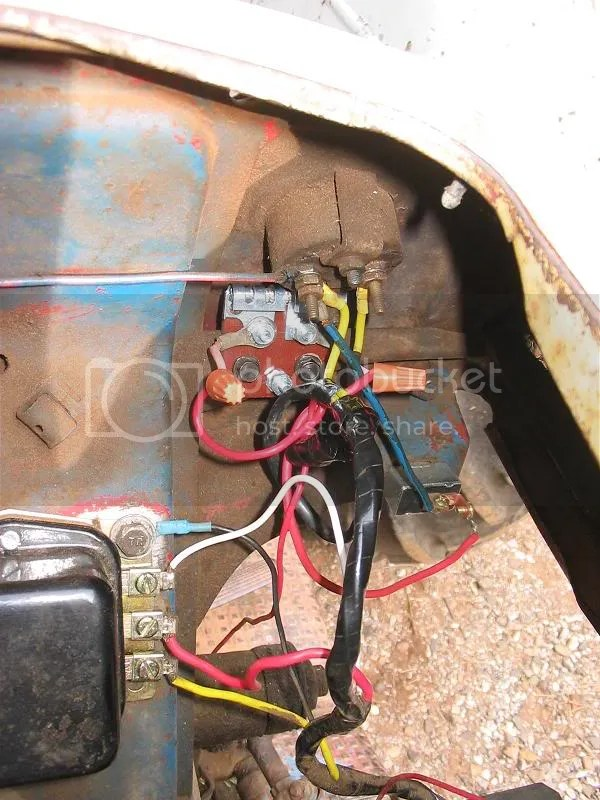 8n Ford Tractor Wiring Solenoid And Ammeter Wiring Pictures And Questions