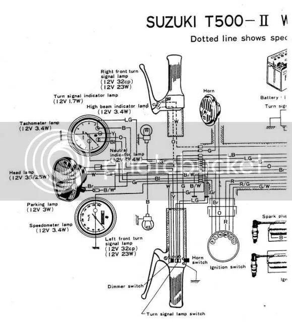 suzuki gt 185 wiring diagram