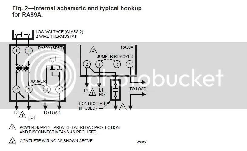 Using Single Aquastat to control Relay to turn Oil Boiler Burner on