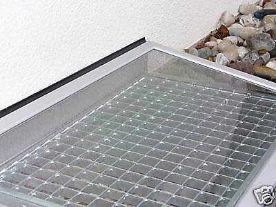 LICHTSCHACHTABDECKUNG Wasserschutz mit Entlftung
