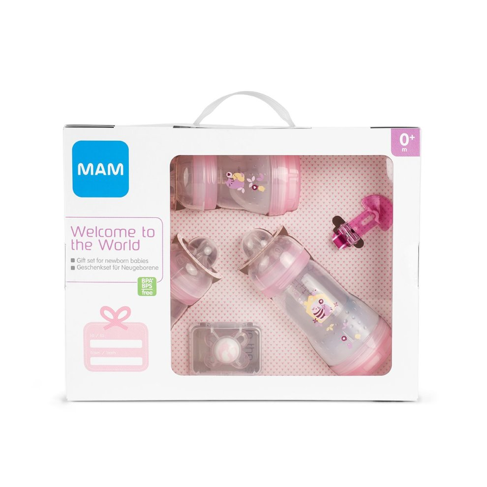 Baby Starterset Mam 600122 Baby Starter Set For Girls